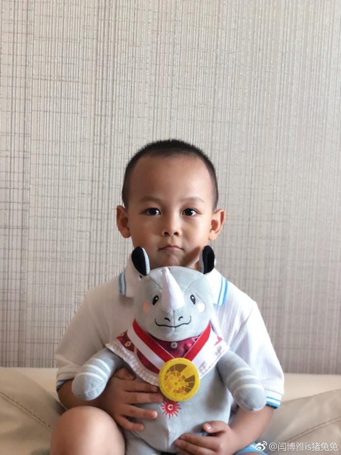 后继有人!王皓培养4岁儿子打球 小海苔成樊振东师弟