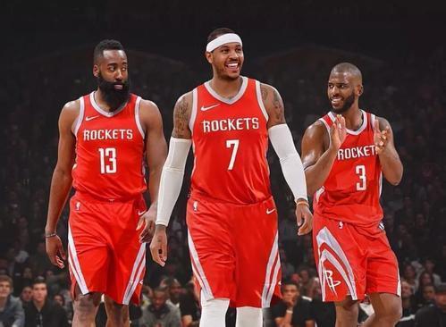 火箭3巨头做足4点大事可成 3项朝勇士看齐1点胜他们