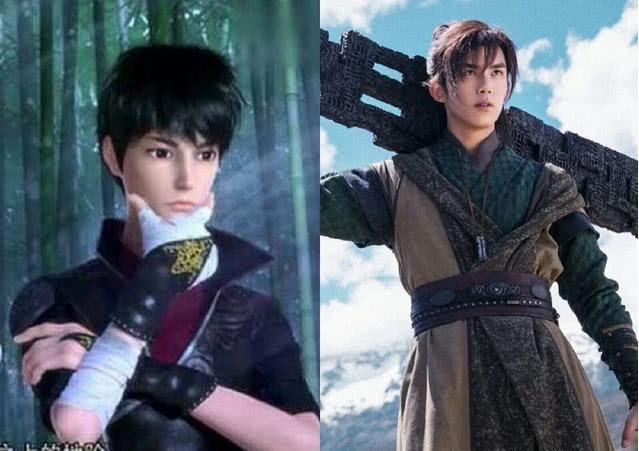 《斗破苍穹》真人和动漫之间的battle,你更看好哪一位?