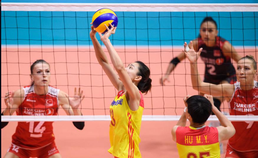 年轻没有失败!中国女排1比3不敌土耳其,将争夺瑞士赛第五名