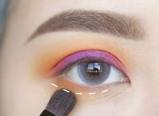 教程| 日系眼妆眼妆画法步骤