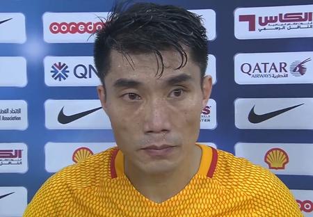 郑智:我们有机会但没打进,现在所做的都是为了亚洲杯