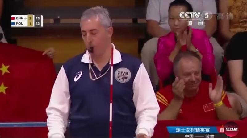 """中国女排力克波兰获瑞士赛第5,""""波兰爷爷""""倒戈祖国"""