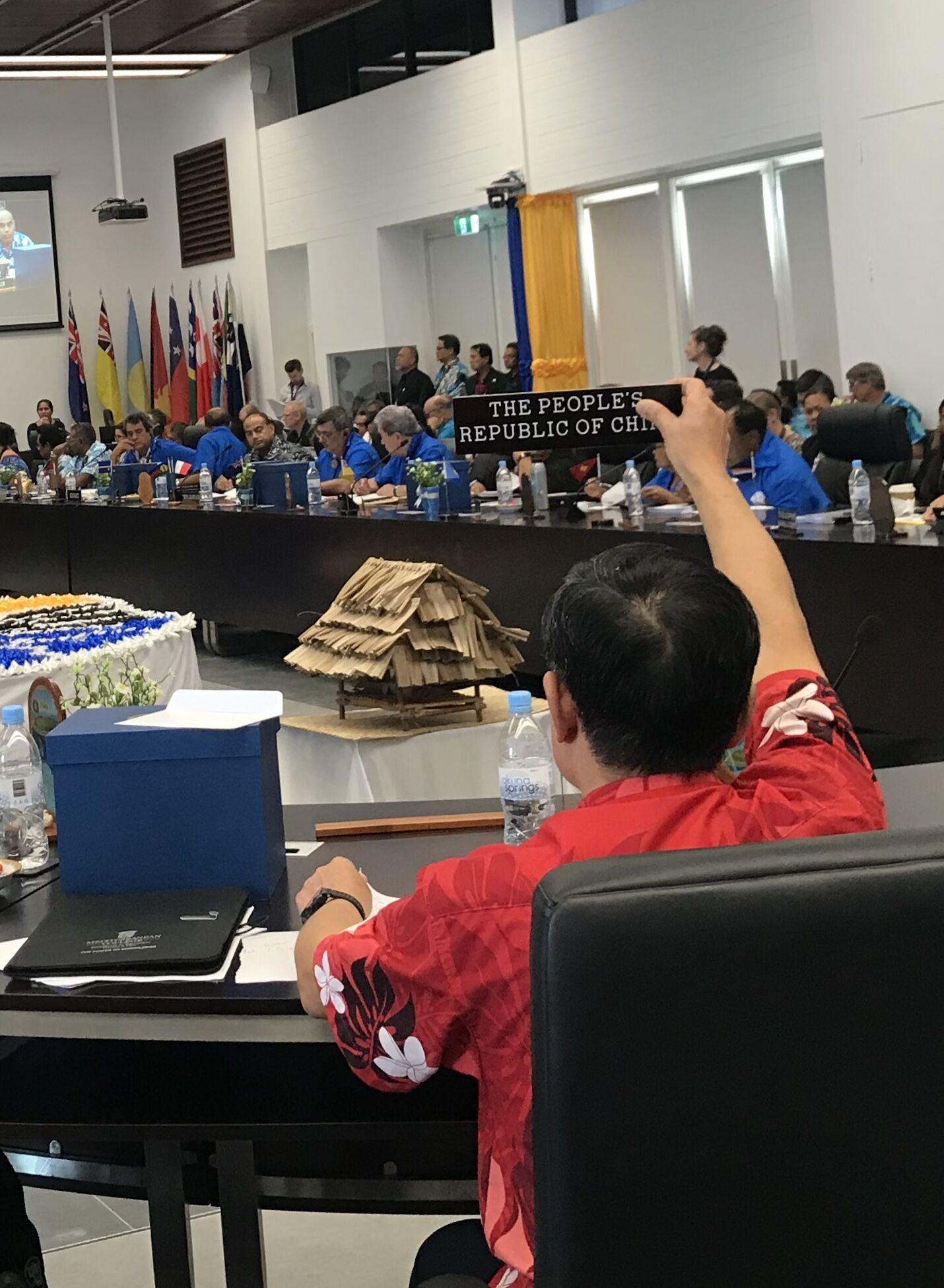 中国特使独家披露!中方与瑙鲁总统交锋实录