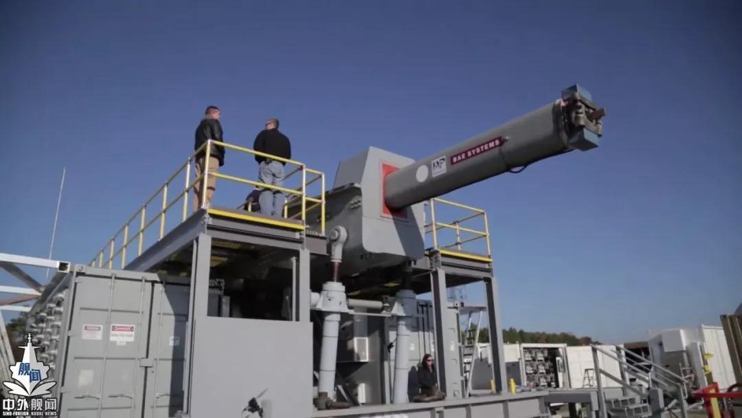 美国电磁炮研制获得重大进展 目前暂时没法上舰