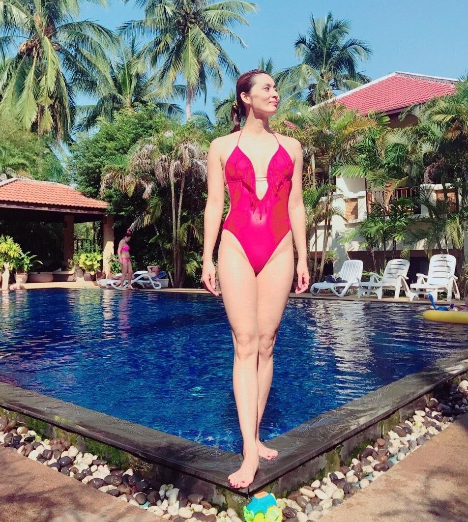 她曾是跳水队颜值担当!42岁看起来像30岁身材似少女
