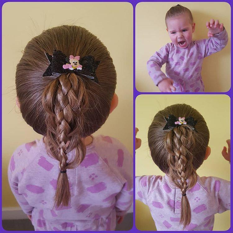 简单又漂亮的儿童编发,喜欢编发的来收图