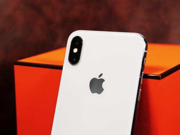 图片为iPhone X