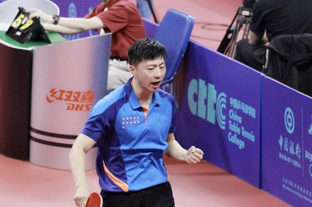 国乒遭除名教练刚复出就帮马龙满血复活 登顶全国冠军
