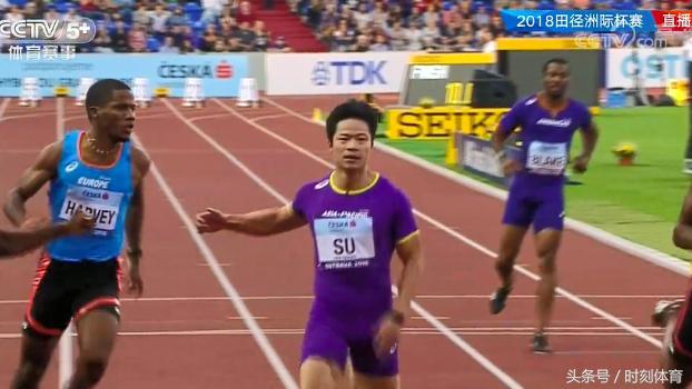 苏炳添决战7高手 被21岁天才0.02秒绝杀摘银