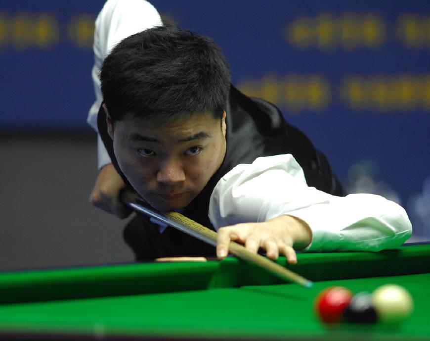 上海大师赛丁俊晖迎首秀 中国小将约战世界第一