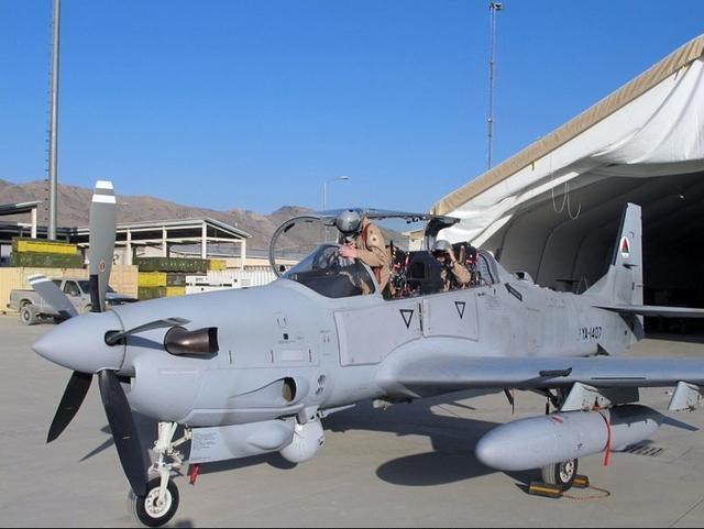 美军拟采购螺旋桨攻击机 作战效率比F
