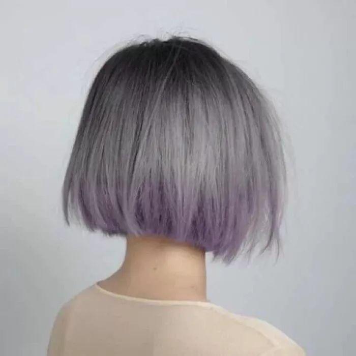 """换个头发颜色,让你""""白的发光""""图片"""