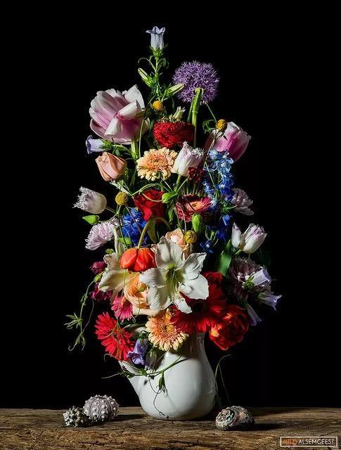 成不了最牛的花艺设计师怎么办?那就成为最会摄影的花艺师!