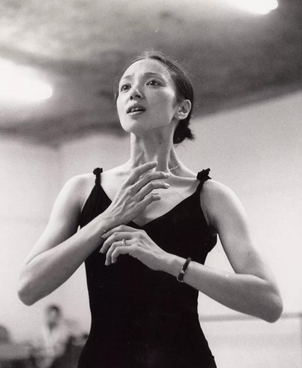 """抢票  """"芭蕾女神""""森下洋子,70岁依然能跳最动人的《白毛女》!图片"""