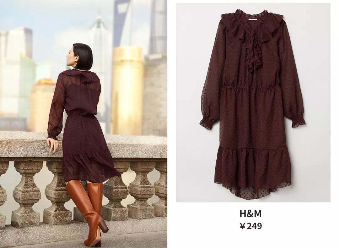 zara牛仔裤,hm连衣裙.高圆圆,刘雯爱穿的平价单品可以直接买了!