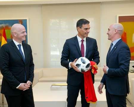 国际足联与西足协向西班牙政府提议,申办2030年世界杯
