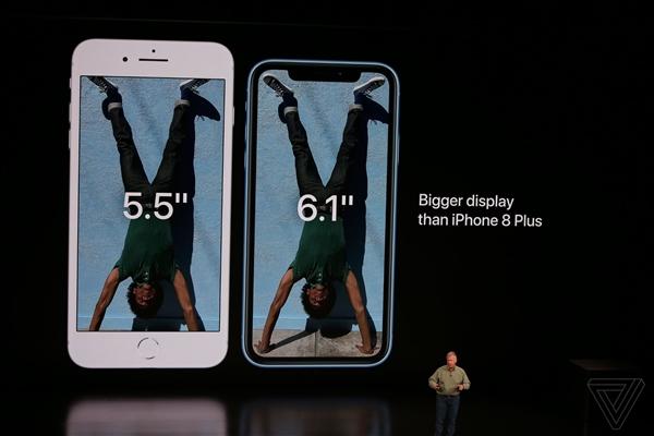 6499元起!苹果发布iPhone XR:支持双SIM卡