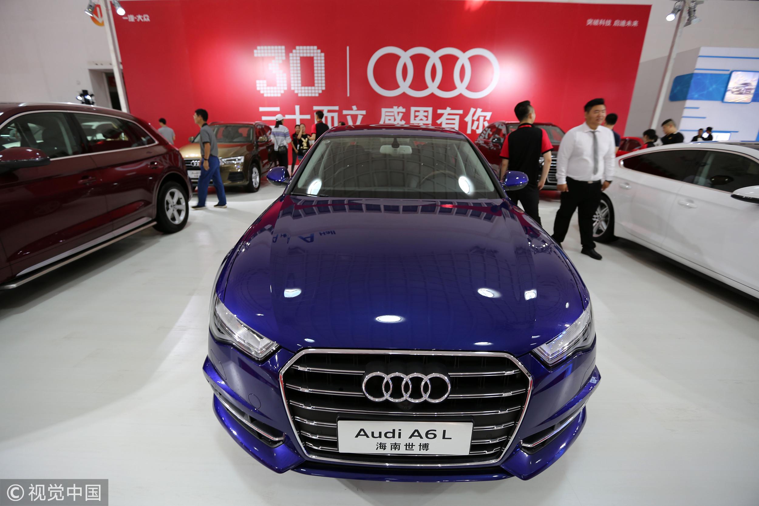 豪华汽车品牌排名生变8月奥迪重夺冠军