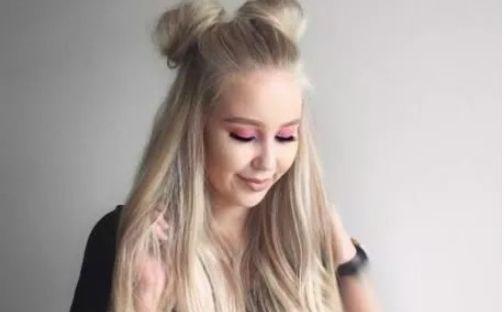 2018最潮的发型短发怎么扎哪吒头?这样扎最显俏皮青春