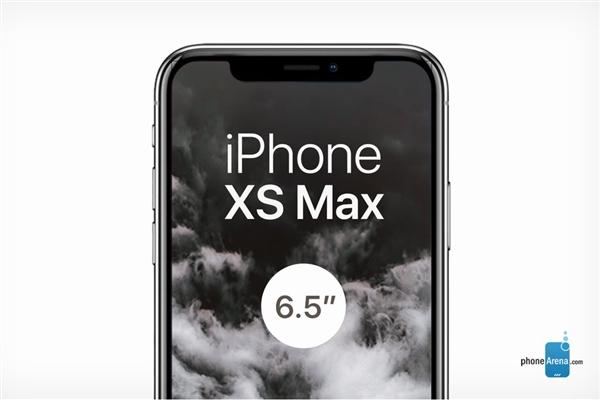 iPhone Xs Max发布:6.5寸OLED屏/512G存储 12799元