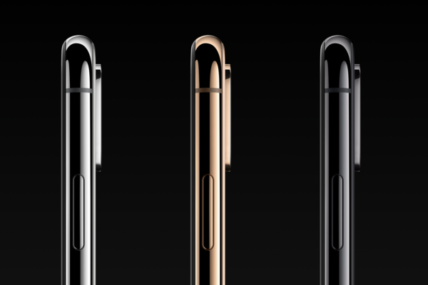 iPhone XS拥有三种配色
