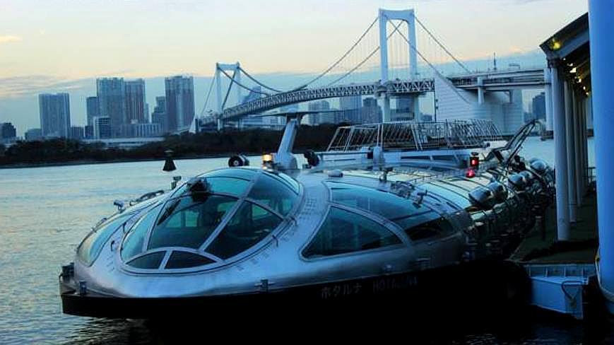日本未来世界水上巴士,形似太空飞船!看完后佩服日本人的脑洞!