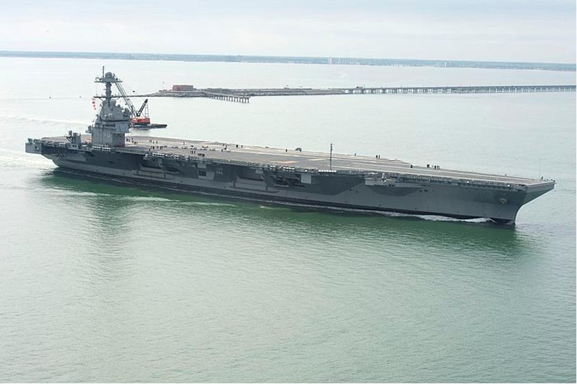 北京pk赛车10开奖直播:福特级航母二号舰将建成_一武器声称要破东风