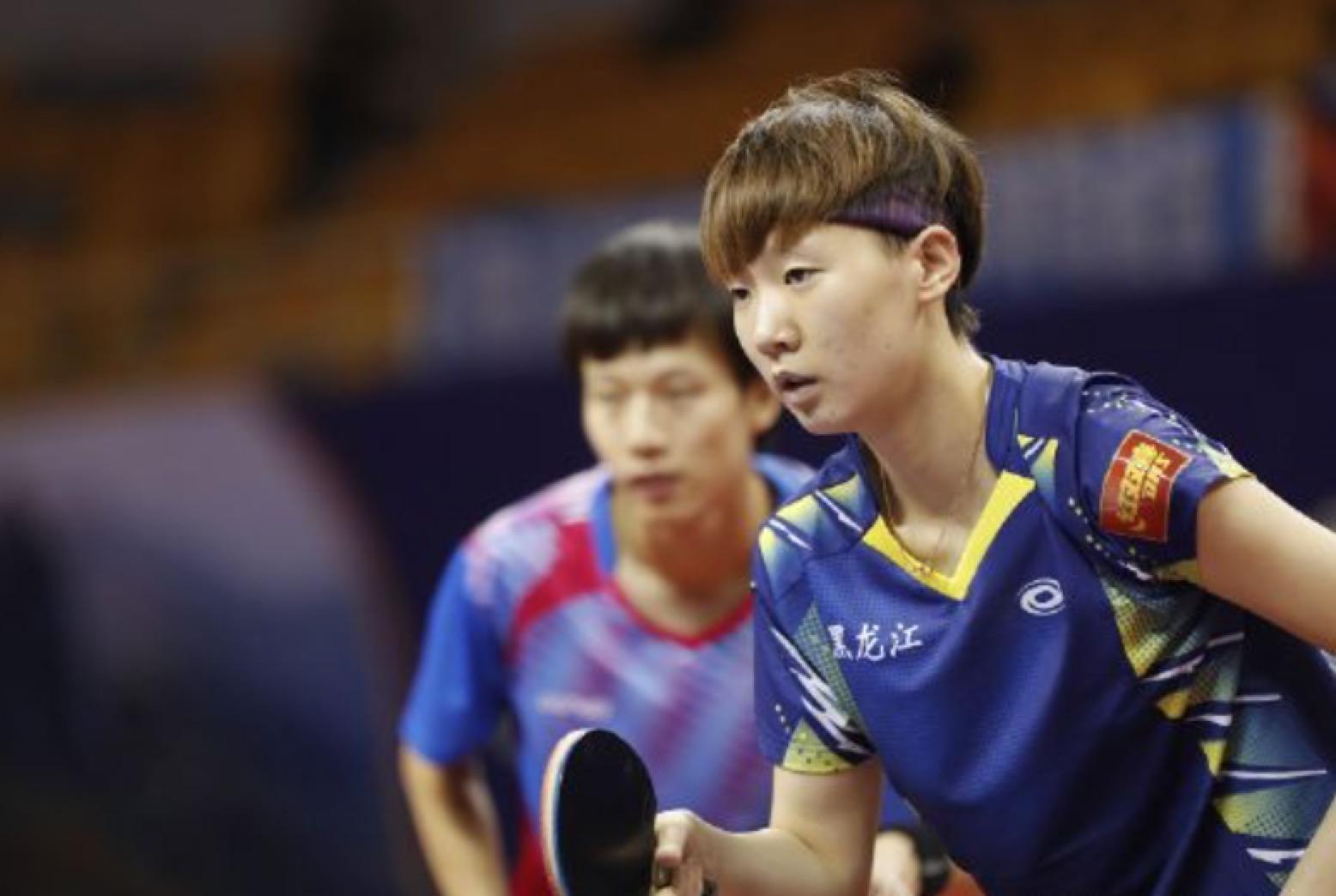 王曼昱连输2场3线出战0冠军 朱雨玲陈梦进女双半决赛