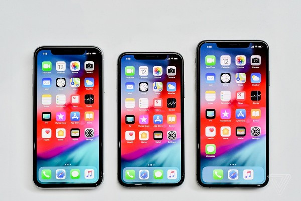 iPhone XR、iPhone XS、iPhone XS Max