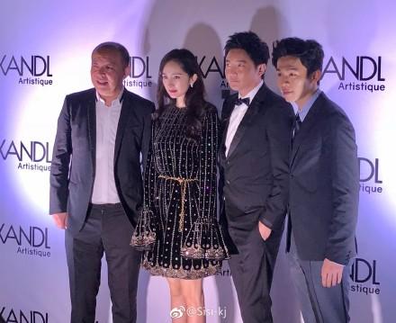 杨幂参加外国电影节,用英文打招呼只说出了一个单词