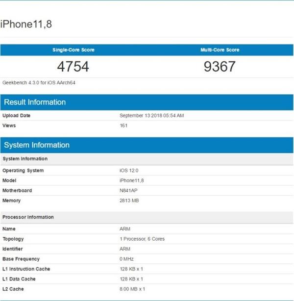 苹果三款新iPhone内存确定:最高4GB!