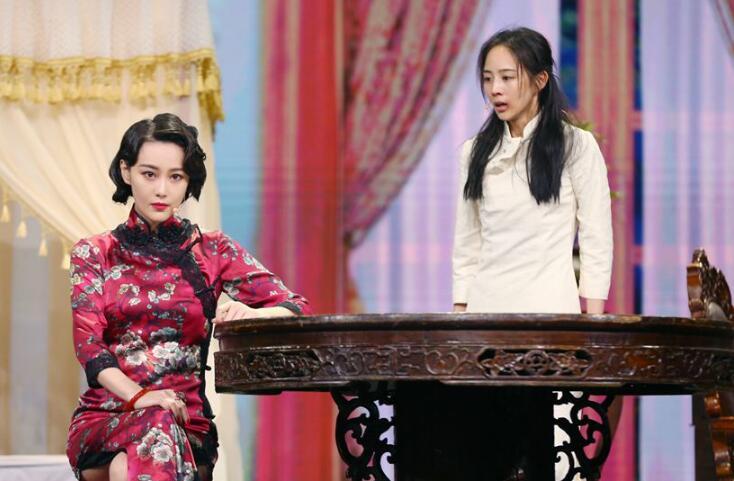 张馨予婚后亮相,一袭旗袍好显身材!网友:全靠PS