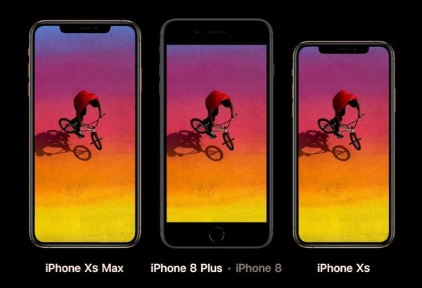 iPhone XS/XS Max对比iPhone 8 Plus