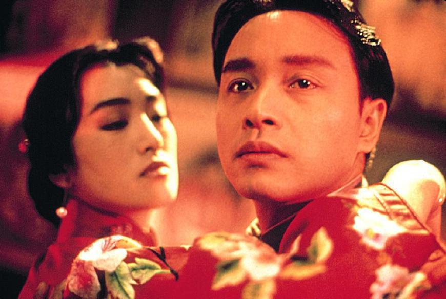 22年前的陈凯歌电影,张国荣巩俐双星闪耀