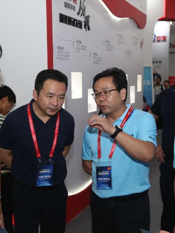 国美通讯CEO沙翔、湖北电信副总经理杨峰