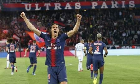 卡瓦尼点射德拉克斯勒赛季首球,巴黎4
