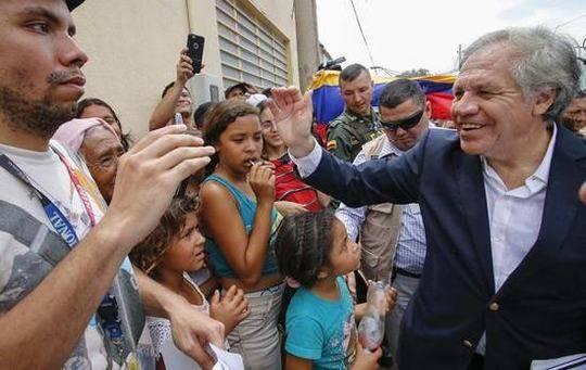 美洲国家组织秘书长:不排除对委内瑞拉用军事手段