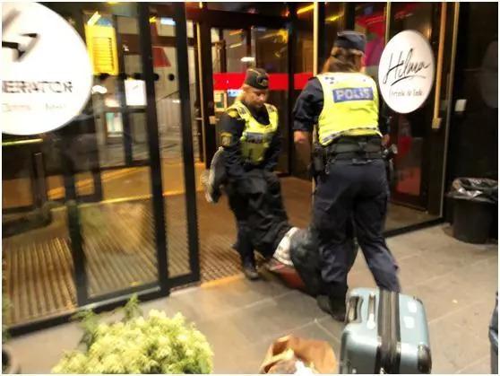 环球时报:瑞典必须严惩对中国老人施恶的警察
