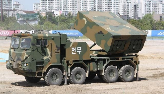 韩国这款火箭炮如今又有新弹了?多种口径任选