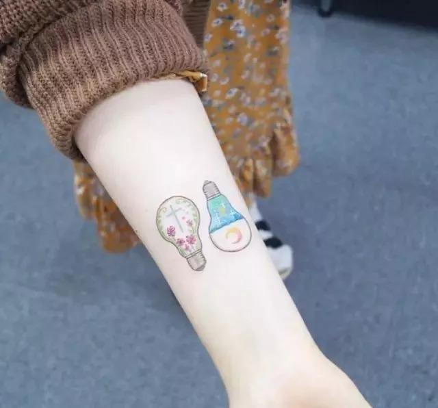 纹身图案丨这些小清新纹身,文艺气息爆棚!