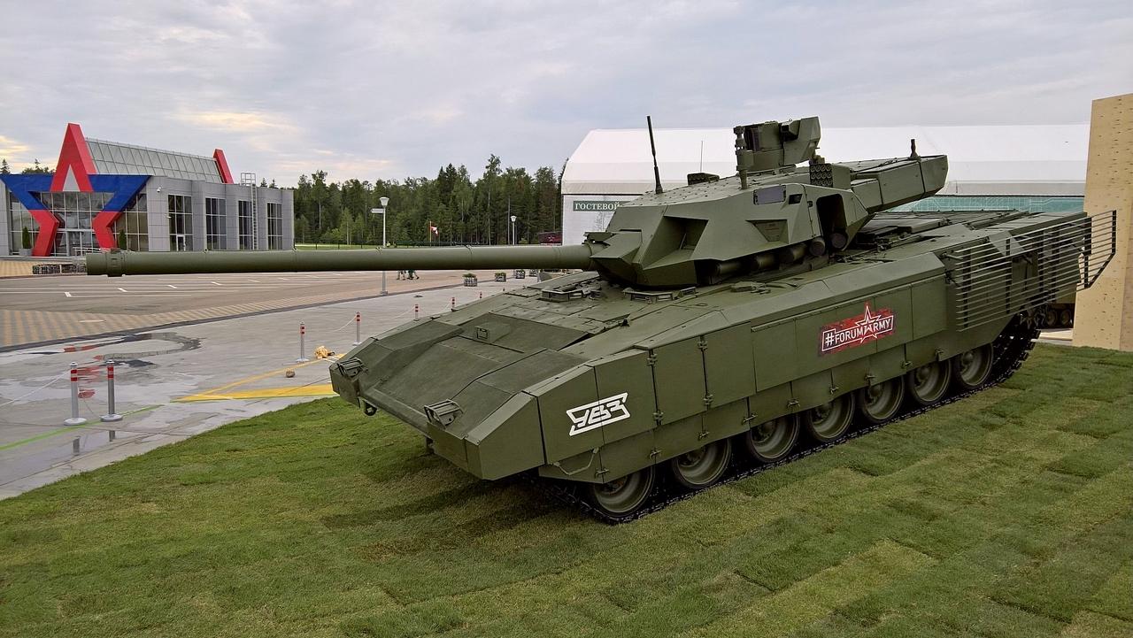 俄军T14坦克服役后能独霸天下?性能未必比中国99A强