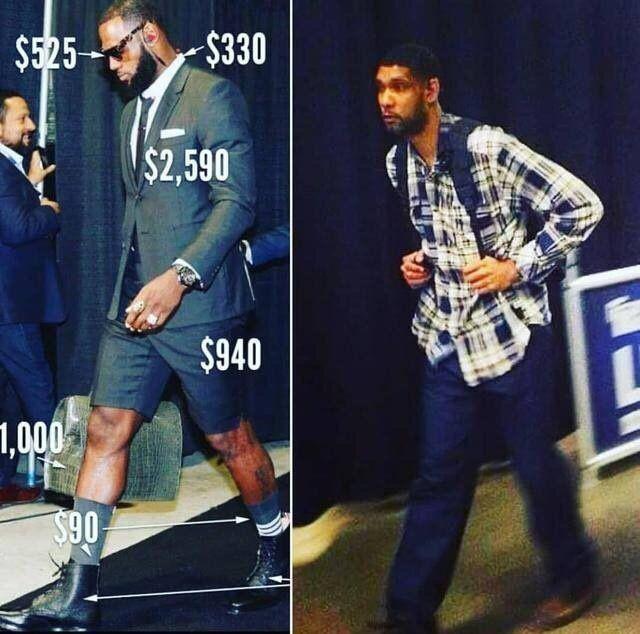 NBA球员有多节俭?邓肯行头是詹皇1000分之1,邦纳有5个省钱大招