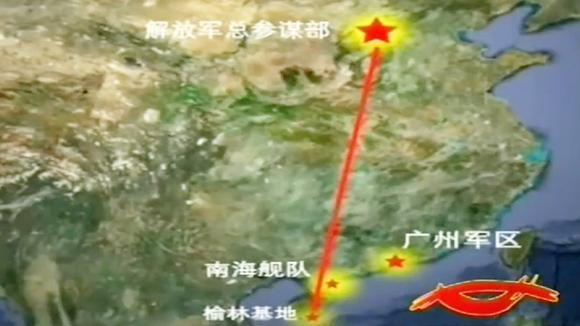 总参越级命令榆林基地立即出动,原因是南越舰船炮击我甘泉岛国旗