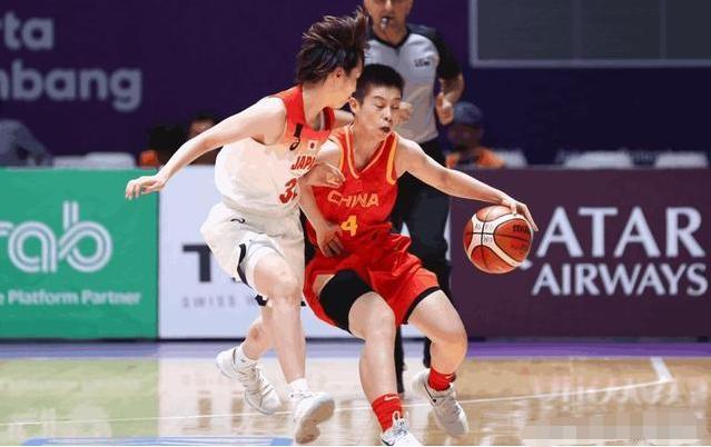 厉害!中国女篮一个月内三次击败日本女篮,大赢日本一队13分