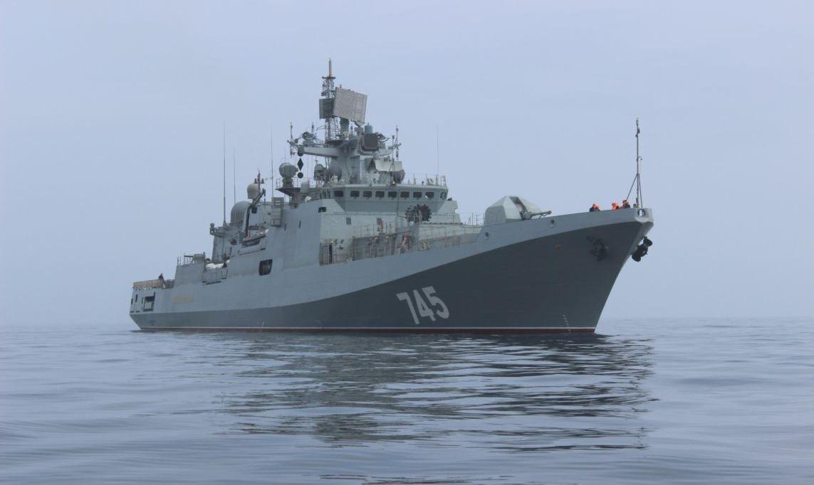 """俄印签22亿美元大单 采购4艘""""靠谱""""护卫舰"""