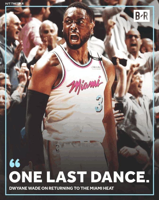 这辈子没拿过顶薪!老韦德的NBA最后一年,他用三个词表述心声