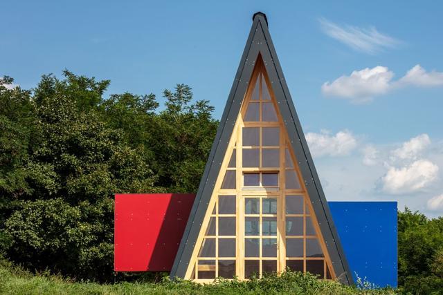 架构设计没灵感?来看匈牙利Hello wood上的木材主角