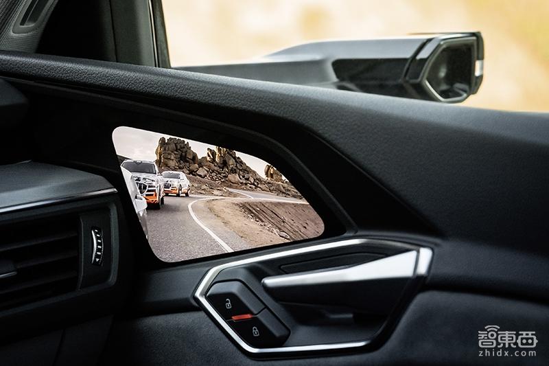 视镜首款无后外形汽车!奥迪纯电e-tron发布,名爵套娃q8全球hs油加满多少升图片