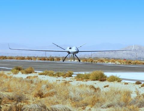美国空军使用MQ-9 布洛克5型无人机完成首次自动起飞与着陆